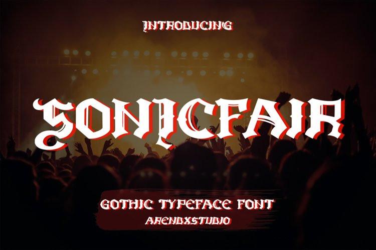 Sonicfair Blackletter Font