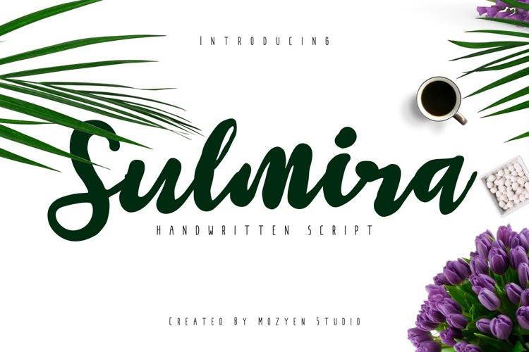Sulmira Script Font