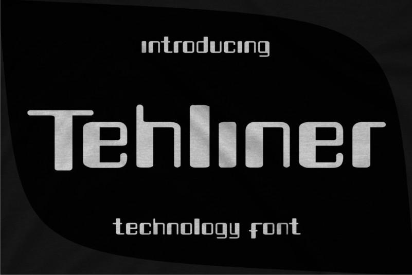 Tehliner Display Font