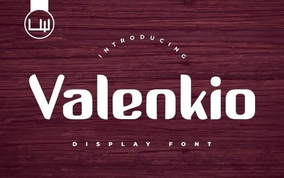 Valenkio Display Font