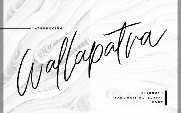 Wallapatra Handwritten Font