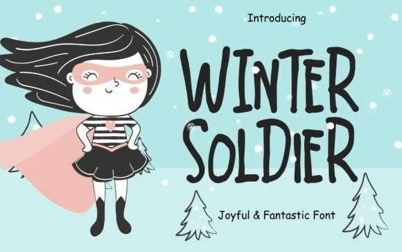 Winter Soldier Display Font