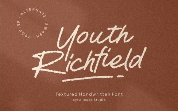 Youth Richfield Script Font