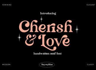 Cherish & Love Serif Font