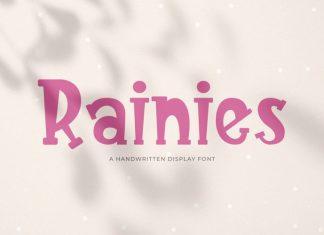 Rainies Display Font