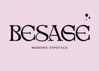 Besage Serif Font