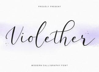 Violether Script Font