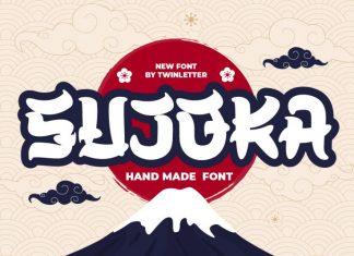 SUJOKA Display Font