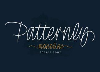 Patternly Handwritten Font