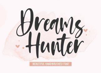 Dreams Hunter Script Font