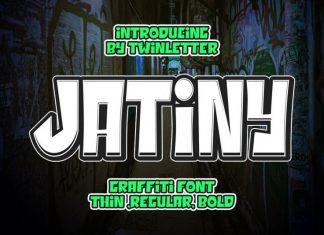Jatiny Display Font