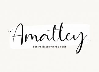 Amatley Script Font