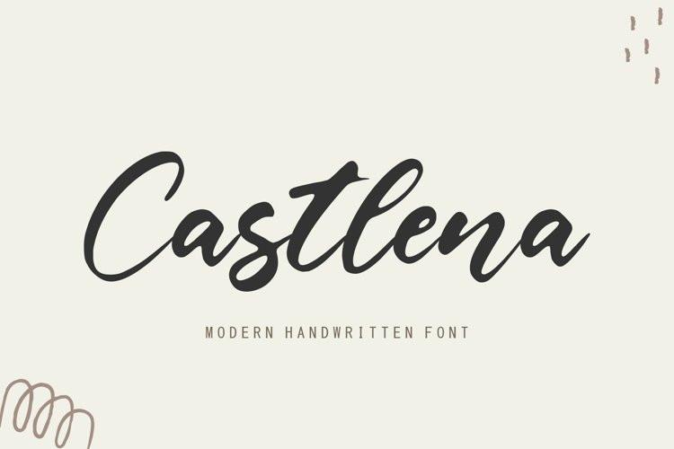 Castlena Script Font