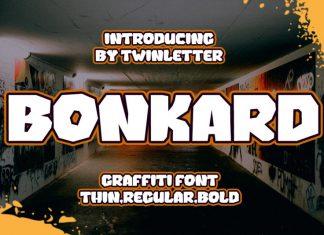 Bonkard Display Font
