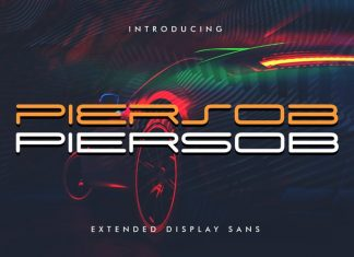 Piersob Display Font