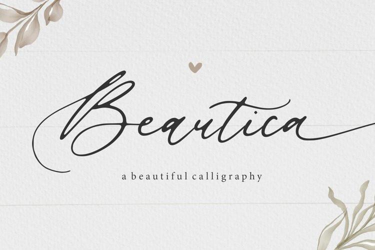 Beautica Script Font