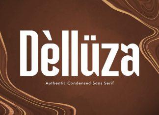 Delluza Sans Serif Font