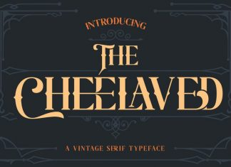 The Cheelaved Display Font