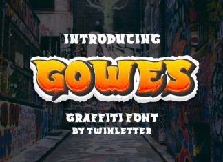 Gowes Display Font
