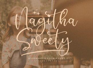 Nagitha Sweety Script Font