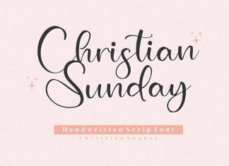 Christian Sunday Script Font