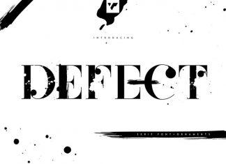 Defect Serif Font