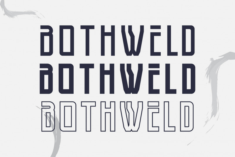Bothweld Display Font