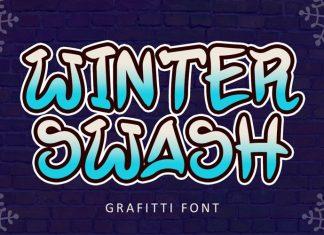 Winter Swash Display Font