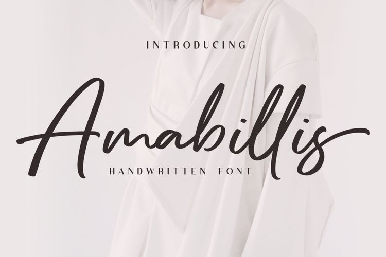 Amabillis Script Font