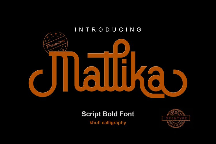 Mallika Script Font