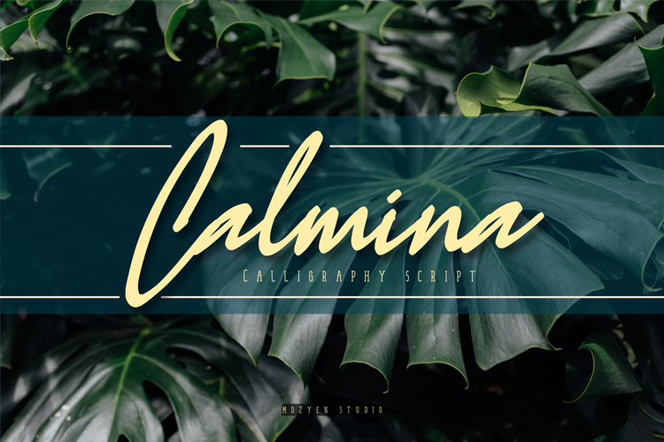 Calmina Handwritten Font