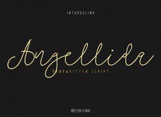 Angellida Handwritten Font