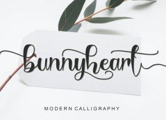 Bunnyheart Script Font