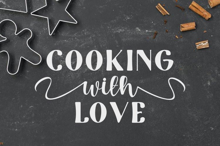 Tomato Kitchen Font Duo