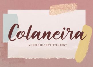 Colaneira Brush Font