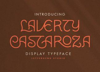 Laverty Castaroza Display Font