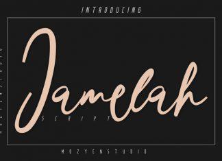 Jamelah Script Font