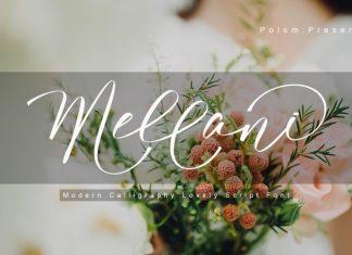 Mellani Script Font