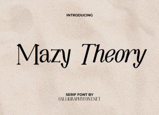 Mazy Theory Display Font
