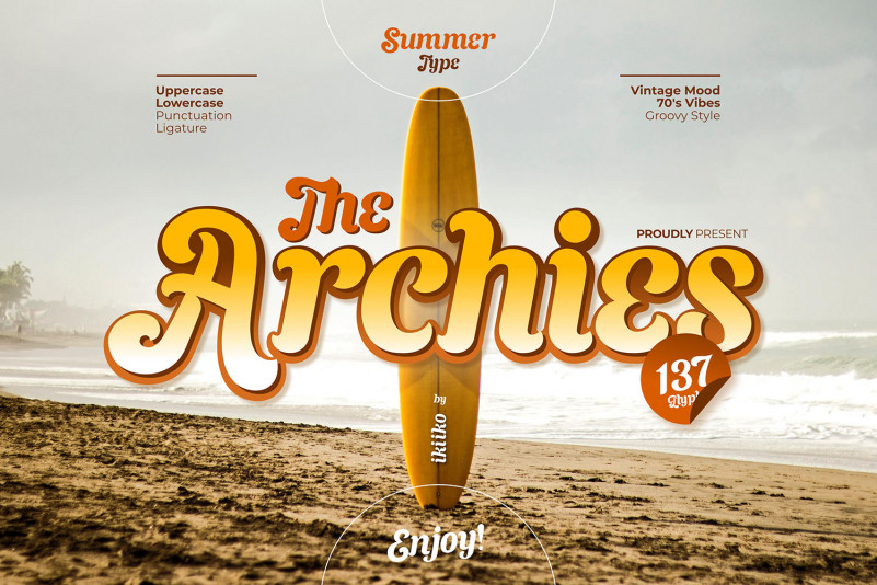 The Archies Display Font