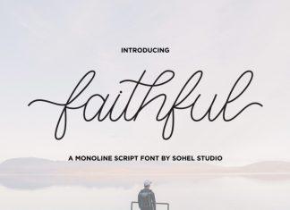 Faithful Handwritten Font