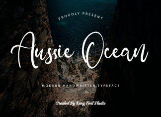 Aussie Ocean Script Font