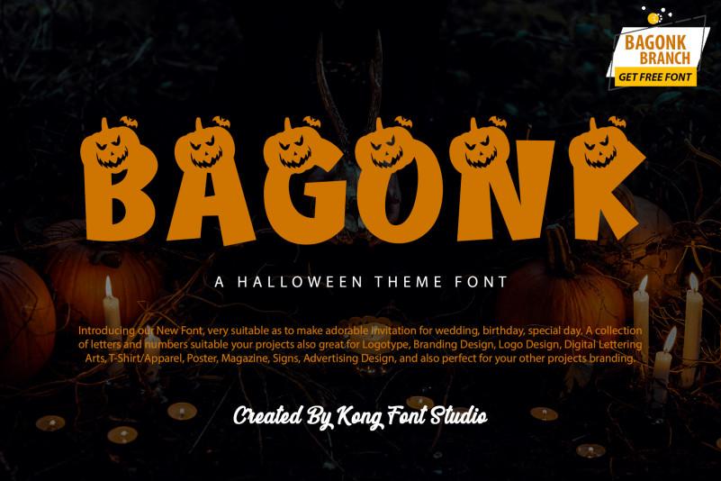 Bagonk Display Font