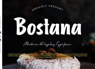 Bostana Script Font