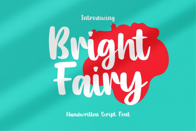 Bright Fairy Script Font