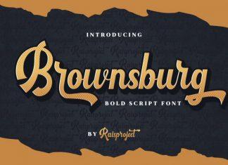 Brownsburg Script Font