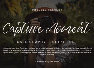 Capture Moment Script Font
