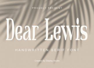 Dear Lewis Serif Font