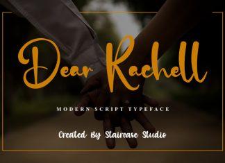Dear Rachell Script Font
