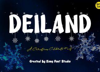 Deiland Display Font